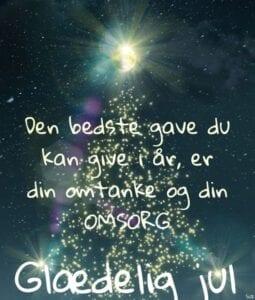 Den bedste gave — Glædelig jul til alle jer dejlige mennesker — Nyhedsbrev